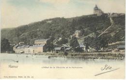 NAMUR : L'Hôtel De La Citadelle Et Le Funiculaire - Nels Série 16 N° 43 - RARE VARIANTE COLORISEE - Cachet Poste 1902 - Namur