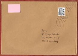 Grossbrief, Bauhaus Dessau, Handroll Welle Briefzentrum 78, Konstanz Nach Leonberg 2008 (926) - Cartas