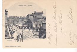 CPA Old Pc Espagne Bilbao Puente Del Arenal 1901 - Vizcaya (Bilbao)