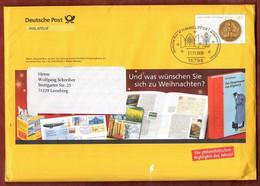 Eigenausgabe EA F 177 Goldene Bulle, Kompletter Inhalt, SoSt Himmelpfort, Nach Leonberg 2006 (930) - Cartas