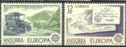 ANDORRA CORREO ESPAÑOL C. M. ABAD Nº 116/117 ESTOS SELLOS O SIMILARES SIN FIJASELLOS ** - Nuevos