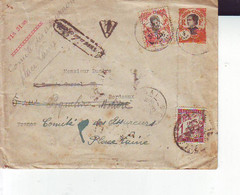Lettre Taxée  Pour Bordeaux 1928 - Storia Postale