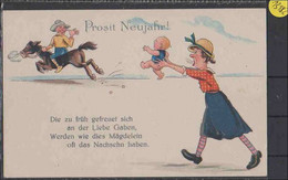 Ansichtskarte     Prosit Neujahr            Minimale  Gebrauchsspuren - Sin Clasificación