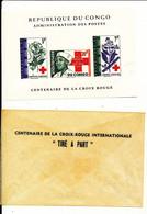 CONGO KINSHASA RED CROSS LUXE SHEET COB LX499 MNH - Republic Of Congo (1960-64)