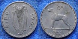 IRELAND - 6 Pence 1963 KM# 13a Republic (1939 (1947) - 1971) - Edelweiss Coins - Ireland