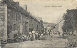 52 - GONCOURT - Rue Du Moulin. Animée, Circulé En 1909. - Otros Municipios