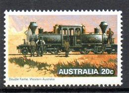 AUSTRALIE. N°662 De 1979. Locomotive à Vapeur. - Trains