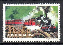 AUSTRALIE. N°663 De 1979. Locomotive à Vapeur. - Trains