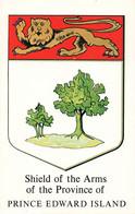Canada Ile Du Prince Edouard Blason Embleme Shield Of The Arms Of The Province Of Prince Edward Island - Zonder Classificatie