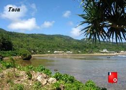 Wallis And Futuna Taoa Village New Postcard - Wallis And Futuna