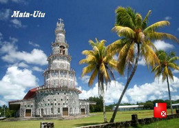 Wallis And Futuna Mata Utu Church New Postcard - Wallis En Futuna