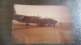 PHOTO AVION MILITAIRE DANS LE DESSERT DE BAMAKO ? ( Issues  D Un Lot De La Fetes Des Ailes A Bamako 1957 Voir Mes Ventes - Luftfahrt