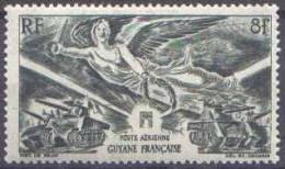 Anniversaire De La Victoire. Détail De La Série Guyane N° PA 28 ** - 1946 Anniversaire De La Victoire