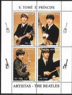 SAO TOME AND PRINCIPE 1996  Musical Artists. Beatles - Musica