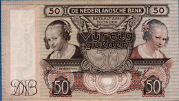 Nederland, Netherlands Type 1941 Oyster Eaters - Oestereetsters  2012.04B12 Nearly UNC - 50 Gulden