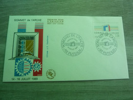 PUTEAUX - HAUTS-DE-SEINE - SOMMET DE L'ARCHE - EDITIONS J.F. COURBEVOIE - ANNEE 1989 - - Oblitérés