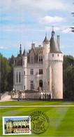 FRANCE CARTE MAXIMUM NUM.YVERT 3595 LE CHATEAU DE CHENONCEAU - 2000-09