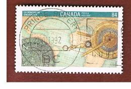 CANADA - SG 1490  - 1992 PHILATELIC EXHIBITION CANADA '92: ENCOUNTER   -  USED - Used Stamps
