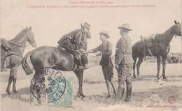 """1925 Grandes Manoeuvres De L' Est   """" Représentant Japonais Avec Le Général Chaffée Mission Américaine  """" - Manoeuvres"""