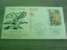DIJON - COTE-D'OR - CHARLES LAPICQUE - SOLITUDE 1952 - EDITIONS J.F. COURBEVOIE - ANNEE 1989 - - Oblitérés