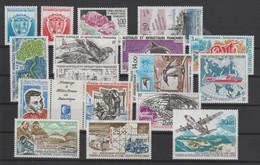 TAAF Année Complète 1993 171-181, 183A Et PA 125-128 ** MNH - Komplette Jahrgänge