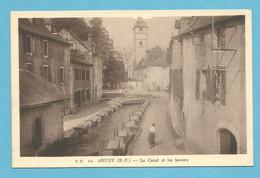 64 : Arudy ; Le Canal Et Les Lavoirs - Unclassified