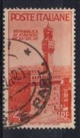 PIA - ITALIA SPECIALIZZAZIONE: 1946 : Avvento Della Repubblica - (SAS 569 - CARRARO 31) - 1946-60: Used