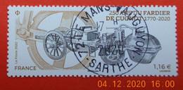 FRANCE 2020    250 ANS DU FARDIER DE CUGNOT    Cachet   ROND - Used Stamps