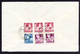 Um 1957 Gelaufener Flugbrief Aus Swatow Nach Boniswil. - Cartas
