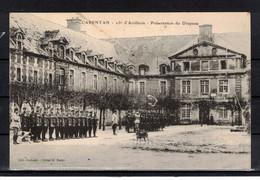 CPA 50  - CARENTAN  ( Ref 50 - 454 )   25ème D'artillerie - Présentation Du Drapeau - Carentan
