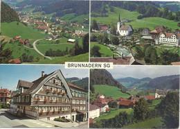 Brunnadern - 4 Bilder            Ca. 1980 - SG St. Gall
