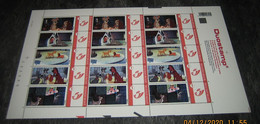 Disney Lady & The Tramp (Vagebond) Strips - Comics -BD - Duostamp - Duostamps - Duozegels - Ongeplooid! MNH Postfris - Private Stamps