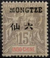 Mong-Tzeu (1903) N 6 * (charniere) - Ongebruikt