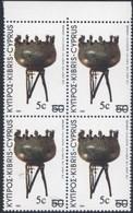 CYPRUS  CHYPRE  1983      Bloc  X  4  Neuf    VALEUR   5 C - Otros