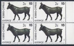CYPRUS  CHYPRE  1983      Bloc  X  4  Neuf    VALEUR   2 C - Otros