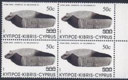 CYPRUS  CHYPRE  1983      Bloc  X  4  Neuf    VALEUR   50  C - Otros