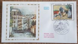 FDC 1983 - YT N°2297 - MAURICE UTRILLO - PARIS - 1980-1989