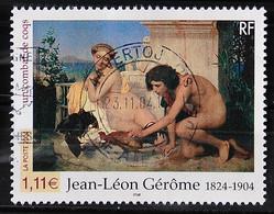 FRANCE 2004 - Cachet à Date N° 3660 - Série Artistique - Jean-Léon Gerôme - Used Stamps