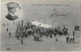 BUC -- Aérodrome Bleriot - Départ De  PEGOUD  Pour Le Looping - Signature Autographe - Flieger