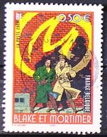 FRANCE 2004 - Cachet à Date N° 3669 - Blacke Et Mortimer - Usados