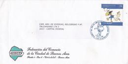 ARGENTINA, FDC. SERBIA Y MONTENEGRO, EQUIPO DE FUTBOL. FOOTBALL WORLD CUP GERMANY 2006.  CARTOONS FONTANARROSA-LILHU - 2006 – Germany