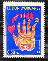 FRANCE 2004 - Cachet à Date N° 3677 - Le Don D'organe - Usados