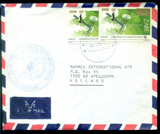 Zaire Air Mail Brief Naar Nederland Yv 1414 - Unclassified