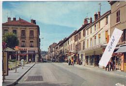 OULLINS - La Grande RUE - Carte Moderne - 1191220 - Oullins