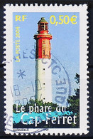 FRANCE 2004 - Cachet à Date N° 3709 - Portraits De Régions - Le Phare Du Cap Ferret - Used Stamps