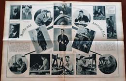 2 Blz Uit Tijdschrift De Stad Antwerpen 1931: Voetbal : Deurne : Hulde Aan Antwerp F.C. - Boeken
