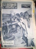 Le Patriote Illustré ,émeute à Léopoldville , Congo - 1950 - Today