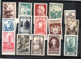 J2068  Ensemble De Tp ** Des Annees 40 Dont Surtaxes - Unused Stamps
