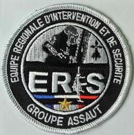ECUSSON   PATCH . ADMINISTRATION PENITENTIAIRE . ERIS . - Escudos En Tela
