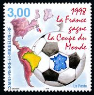 ST-PIERRE ET MIQUELON 1998 - Yv. 683 **   Faciale= 0,46 EUR - Coupe Du Monde De Football  ..Réf.SPM12192 - Neufs